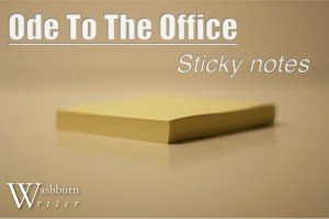 office - sticky notes