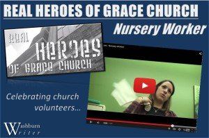 Real heroes - nursery worker