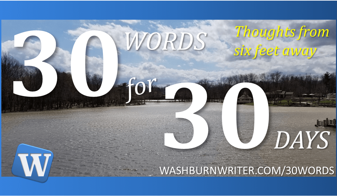 30 Words for 30 Days – Intro