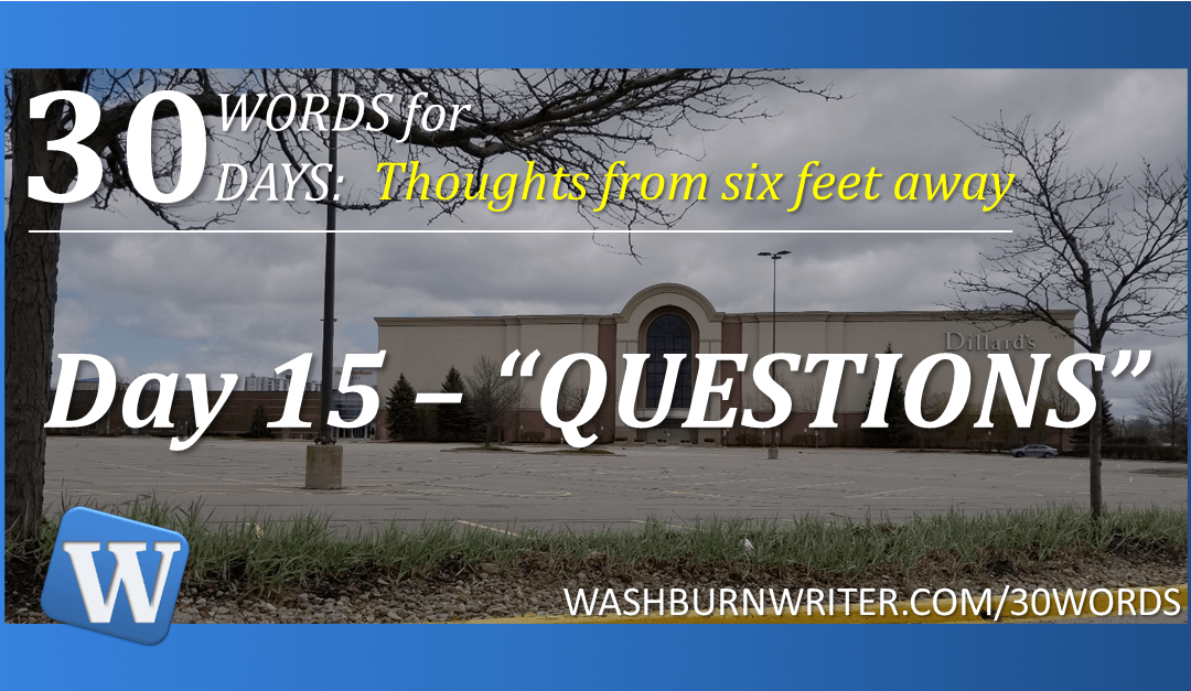 """Day 15 – """"QUESTIONS"""""""