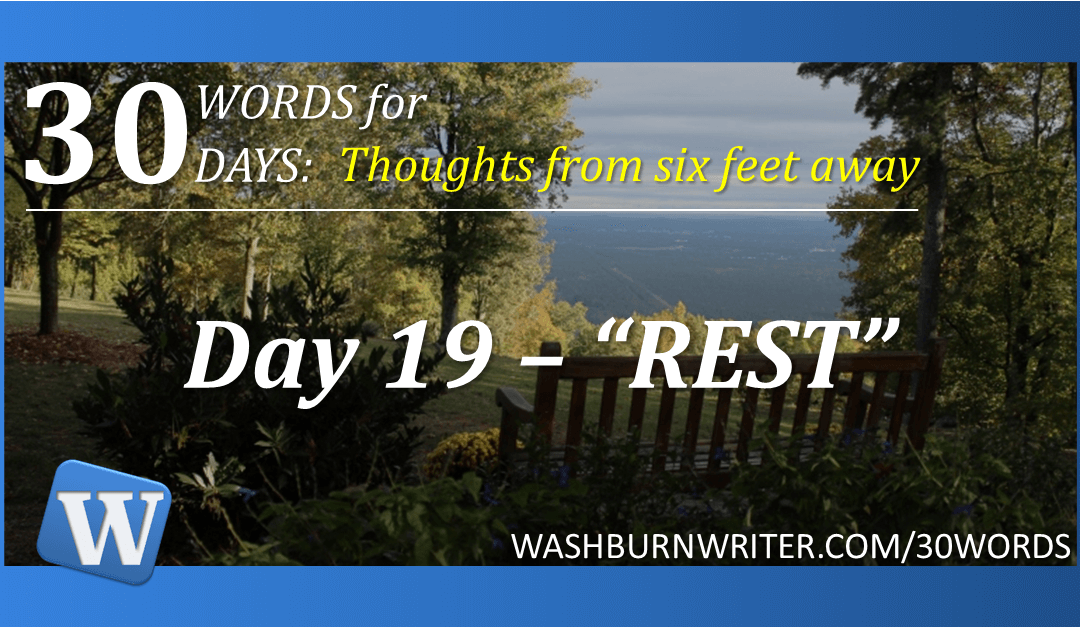 """Day 19 – """"REST"""""""