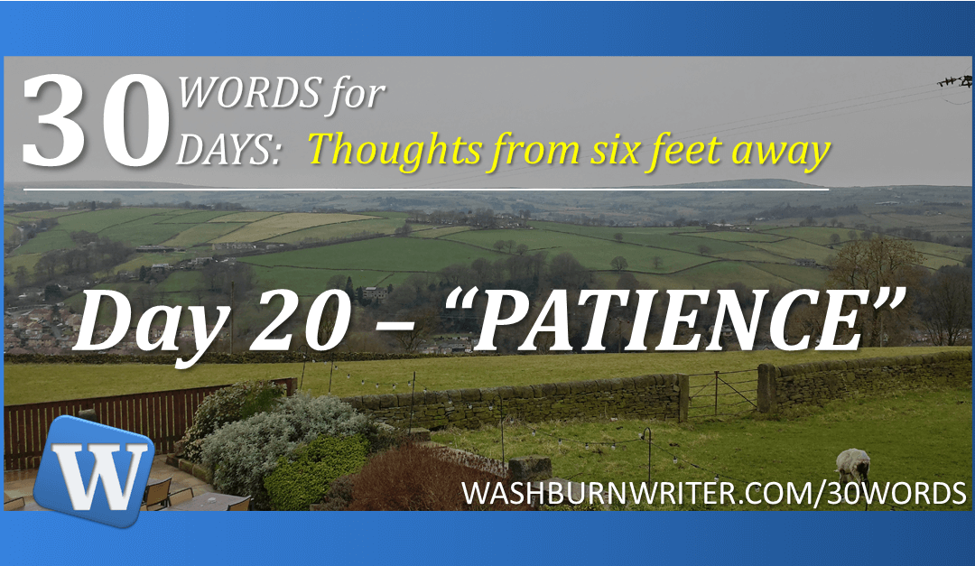 """Day 20 – """"PATIENCE"""""""