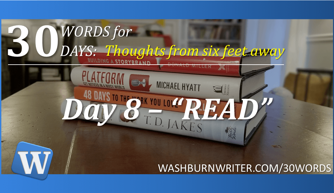 """Day 8 – """"READ"""""""